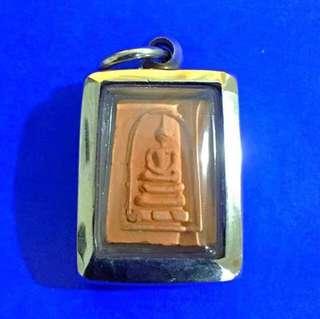 🚚 Lp Kuay Phra Somdej Pim kaenean Lang Yant Amulet