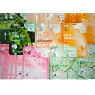 3W CLINIC FRESH FACE SHEET MASK