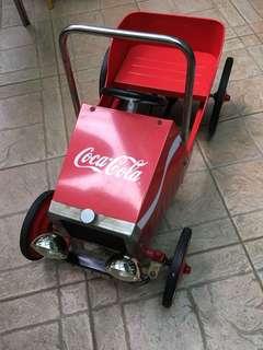 Vintage Coke pedal car