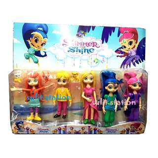 SHIMMER & SHINES TOY FIGURE CAKE TOPPER
