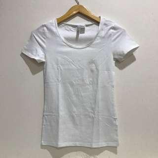 H&M Basic Tee (White)