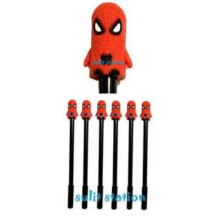 SUPER HERO SPIDERMAN GEL INK PEN PARTY GIVEAWAYS SPUVENIR FAVOR