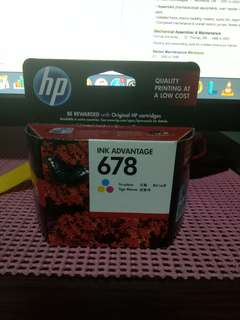 Original HP Ink 678