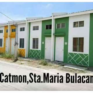 Murang pabahay  sa Catmon, Sta. Maria, Bulacan - P 1,915 monthly at NO DOWN PAYMENT (Pasinaya Homes)