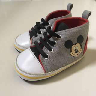 Mickey Mouse Hi-Cut Shoes