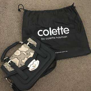 Colette Hayman Black Tote Bag