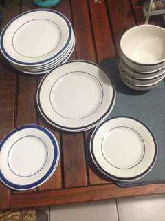 Plates and bowls
