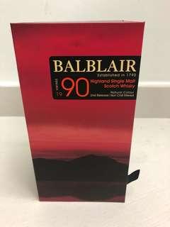 Balblair 1990-2016