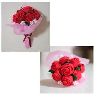 🚚 Scented Felt Roses Bouquet
