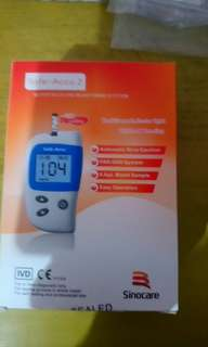 Szkia Digital Blood Testing Monitor, Lancets And Strips