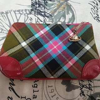 Vivienne Westwood 化妝袋 拉鍊袋 筆袋 Handbag