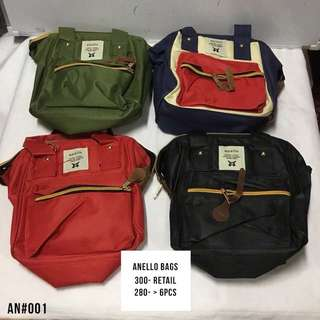 Anello Backpacks