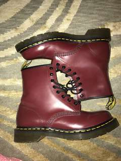 Dr. Martens Cherry Red Rogue: BRAND NEW