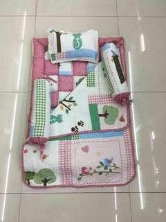 Set Tilam Baby Patchwork (5 In 1) - Supplier Syariz