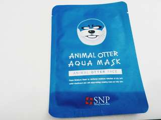 "SNP Animal ""Otter"" Mask 🐺"