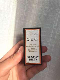 Sunday Riley CEO Brightening Serum