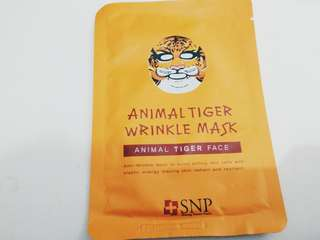 "SNP Animal ""Tiger"" Mask 🐯"