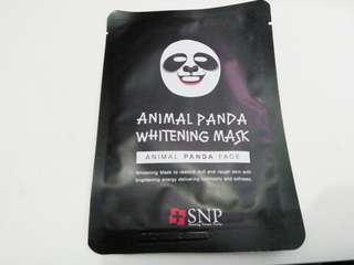 "SNP Animal ""Panda"" Mask 🐼"