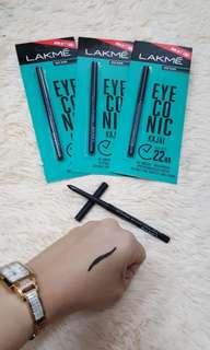 Eyeliner.. serum.. blusher stick
