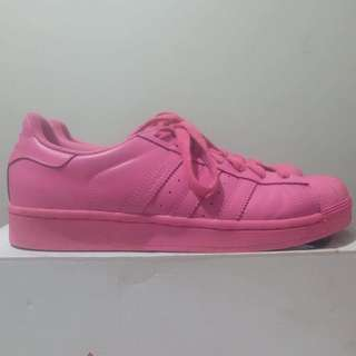 Superstar supercolor pack PINK USED ONCE