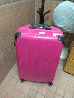 桃紅色行李箱29吋