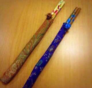 2 pairs of Specially Designed Wooden Chopsticks