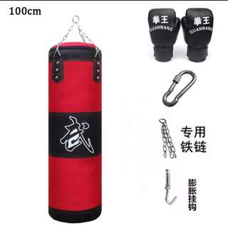 Training Fitness MMA Boxing Punching Bag 100cm