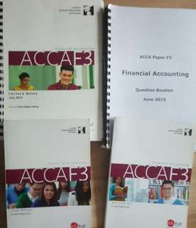 ACCA Financial Accounting /F3