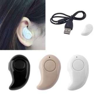 (51)Mini Wireless Bluetooth Stereo In-Ear Earphone Headphone Headset Earpiece