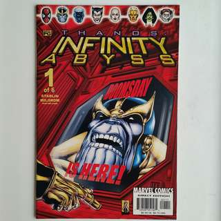 Infinity Abyss No.1 comic