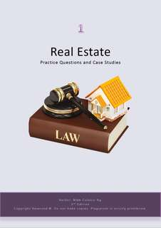 Real Estate Textbooks