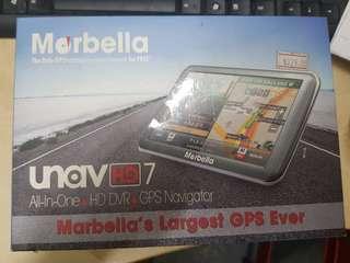 Marbella GPS + Car camera 7inch