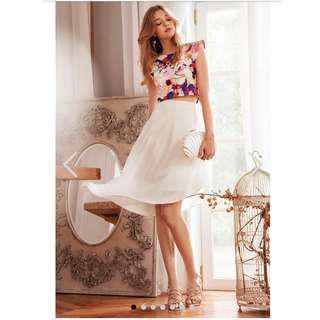 Leighton skirt in white