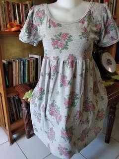 Dress katun bunga