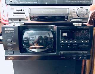 Pioneer File-Type Compact Disc Player PD-F1006