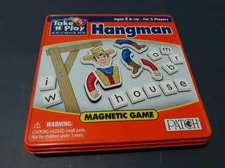 HANGMAN MAGNETIC GAME
