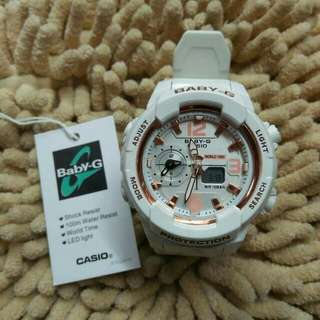 White Baby G Watch for Saale!