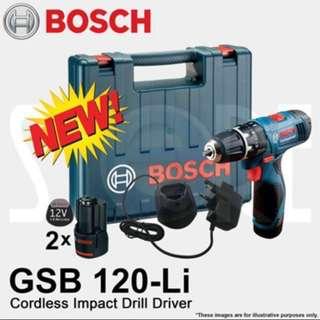 PROMO SALE - BOSCH GSB 120-LI 12V Professional Cordless Impact Drill Driver