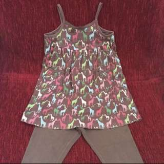 2 pieces set (4-5Y)