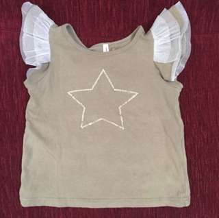 Cotton on Angels with wing shirt (3Y)