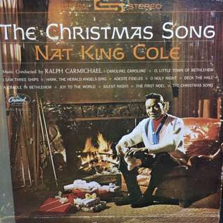 Nat king Cole vinyl records LP plaka
