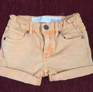 Cotton on shorts (5Y)