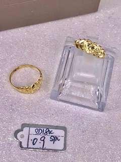 Saudi Gold 18k Ring