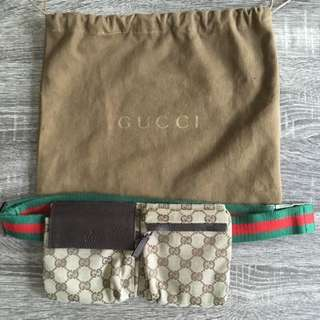 Gucci Original GG Canvas Belt Bag