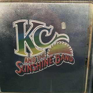 KC and the Sunshine band vinyl records LP plaka