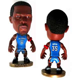 NBA KEVIN DURANT 35 OKLAHOMA BASKETBALL PLAYER TOY FIGURE