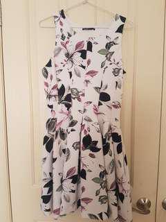 Tokito floral dress size 10