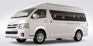 Toyota Hiace 13 seater with Driver