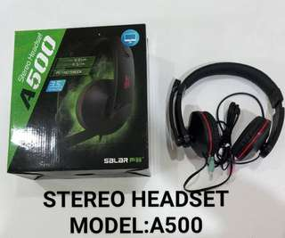 Stereo Headset A500