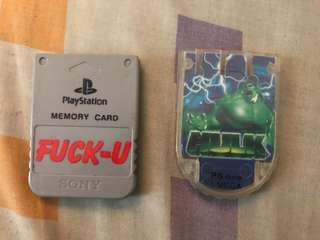 Memory Card PS 1
